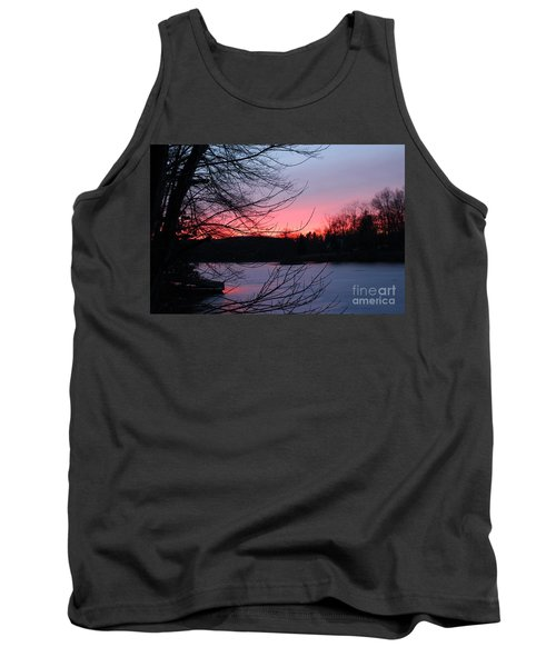 Pink Sky At Night Tank Top by Jason Nicholas