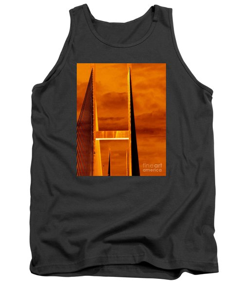 Tank Top featuring the photograph Pinnacle by Cathy Dee Janes