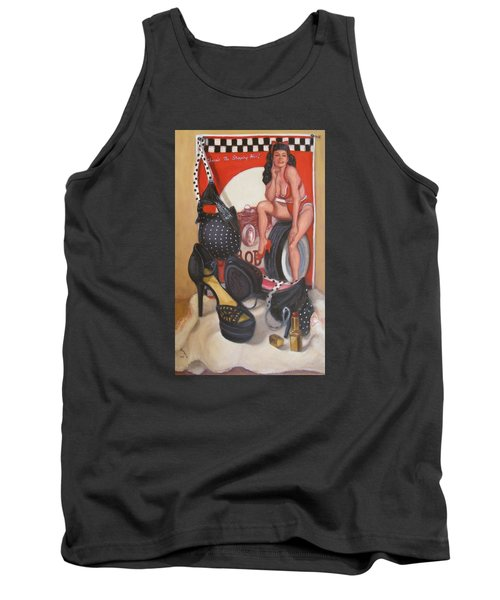 Pinup #1 Tank Top by Donelli  DiMaria