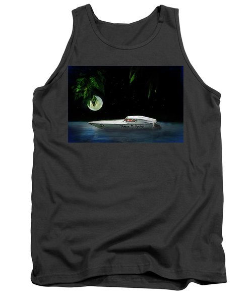 Pirate Racing Tank Top by Michael Cleere