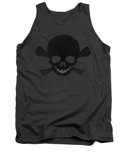 Pirate Skull And Crossbones Tank Top