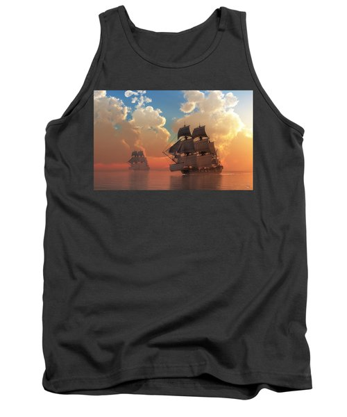 Pirate Sunset Tank Top