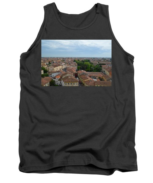 Pisa From Above Tank Top