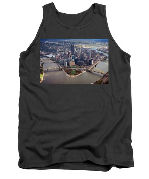 Pittsburgh 8 In Color  Tank Top