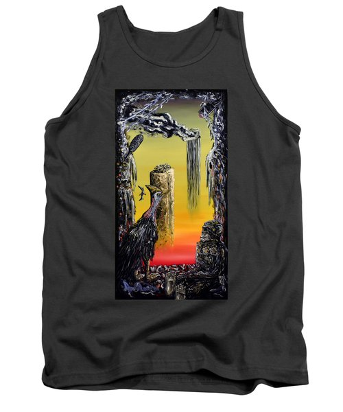 Planet Of Anomalies Tank Top by Ryan Demaree