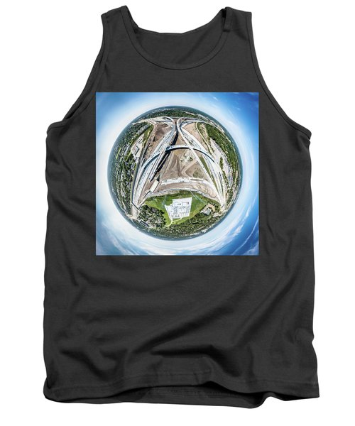 Planet Under Construction Tank Top