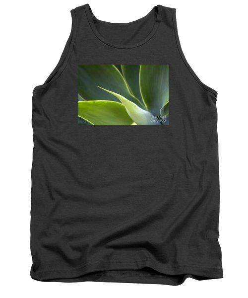 Plant Abstract Tank Top by Tony Cordoza
