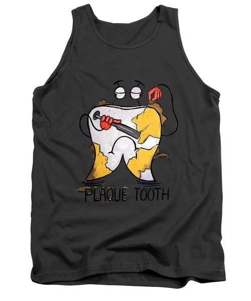 Plaque Tooth T-shirt Tank Top