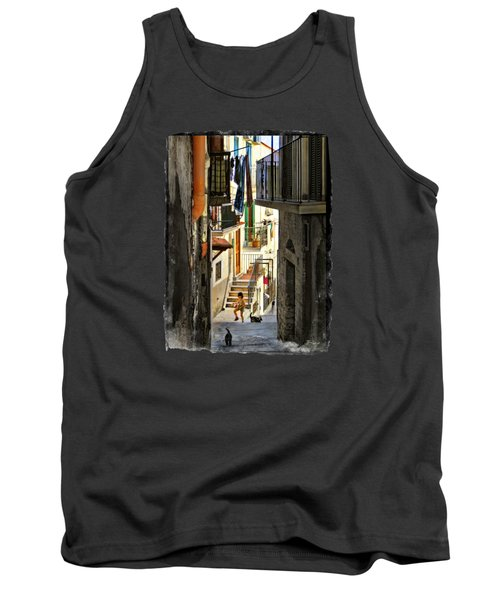 Play Day In Vieste.italy Tank Top