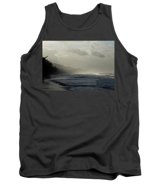Playa Negra Beach At Sunset In Costa Rica Tank Top