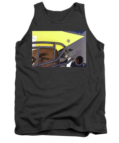 Player In Winged Helmet Tank Top