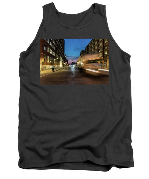 Tank Top featuring the photograph Playing In Traffic by Randy Scherkenbach