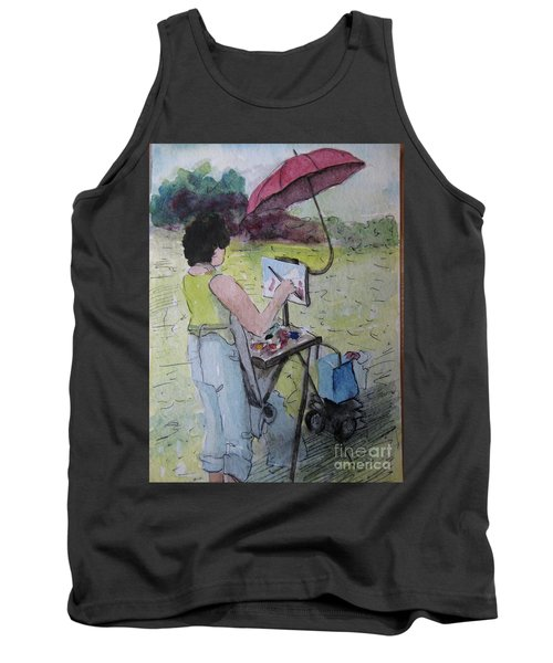 Plein-air Artist Sandra Tank Top