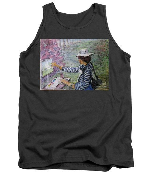 Plein-air Painter  Tank Top
