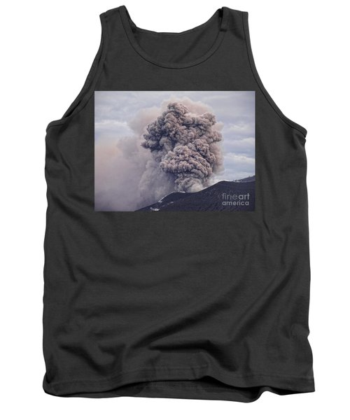 Tank Top featuring the photograph Plume by Trena Mara