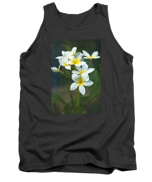 Plumerias On A Cloudy Day Tank Top