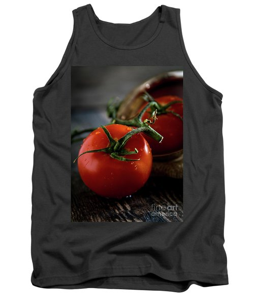 Plump Red Tomatoes Tank Top