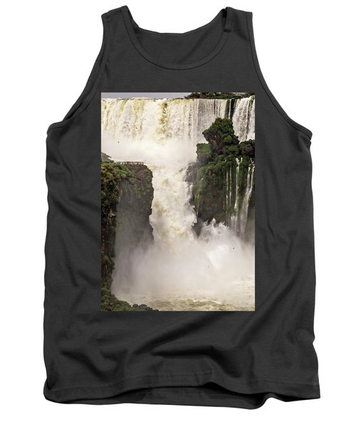 Tank Top featuring the photograph Plunge by Alex Lapidus