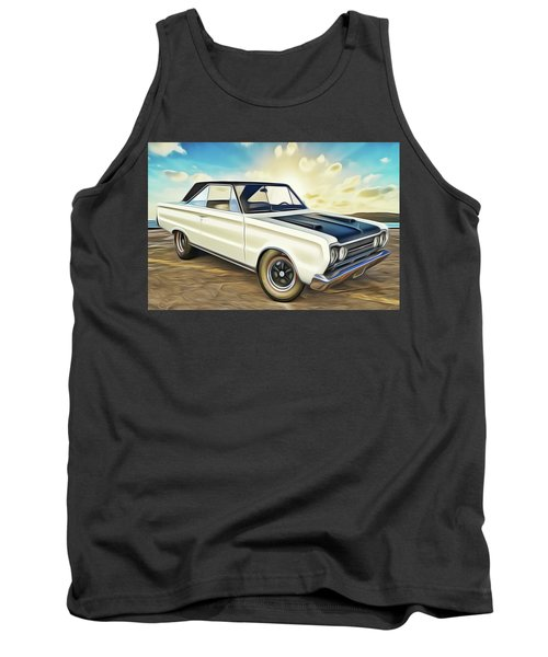 Tank Top featuring the painting Plymouth by Harry Warrick