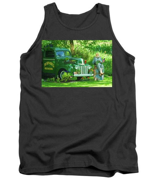 Po Boy Acres Tank Top by Trey Foerster
