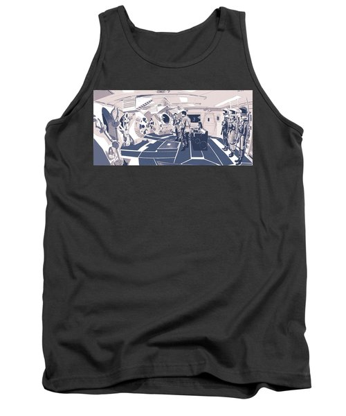 Pod Bay Tank Top by Kurt Ramschissel