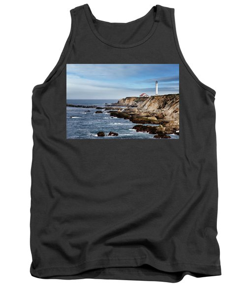 Point Arena Light Tank Top by Lana Trussell