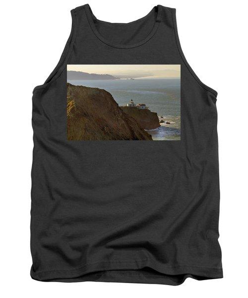 Point Bonita Lighthouse In San Francisco Tank Top