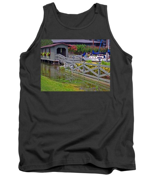 Point Clear Bridge At Grand Hotel Tank Top