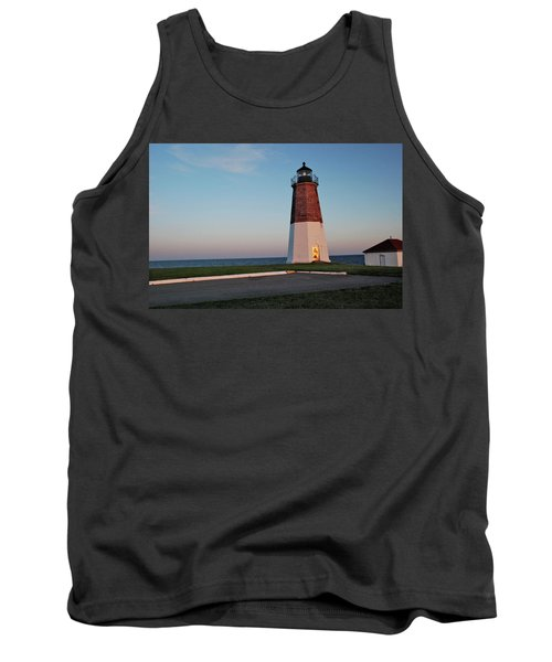 Point Judith Lighthouse Rhode Island Tank Top