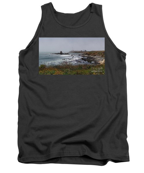 Tank Top featuring the photograph Point Montara Lighthouse by David Bearden