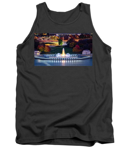 Point State Park  Tank Top by Mihai Andritoiu
