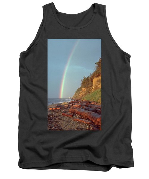 Tank Top featuring the photograph Point Wilson by Laurie Stewart