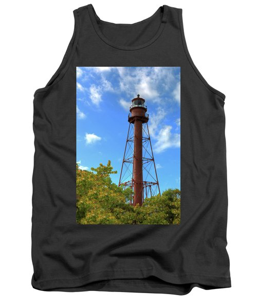 Point Ybel Lighthouse Tank Top by Sharon Batdorf