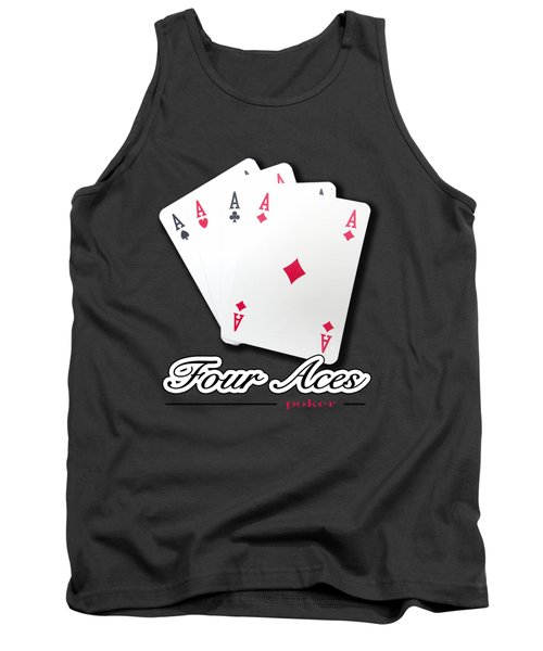 Poker Of Aces - Four Aces Tank Top