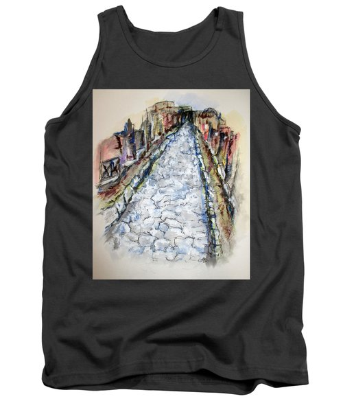 Pompeii Road Tank Top by Clyde J Kell