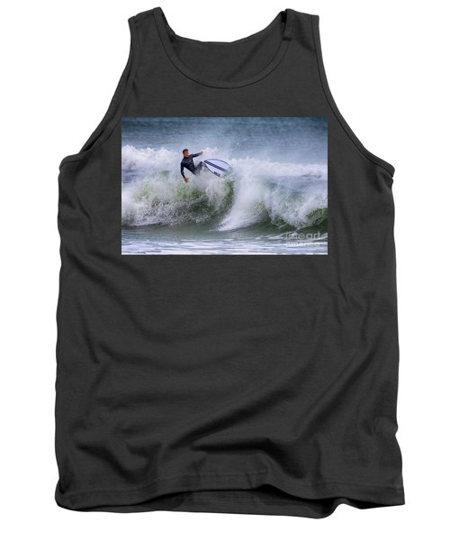 Tank Top featuring the photograph Ponce Surf 2017 by Deborah Benoit