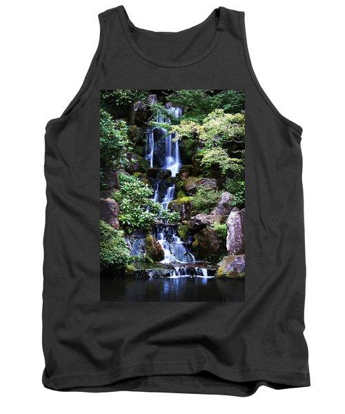 Pond Waterfall Tank Top