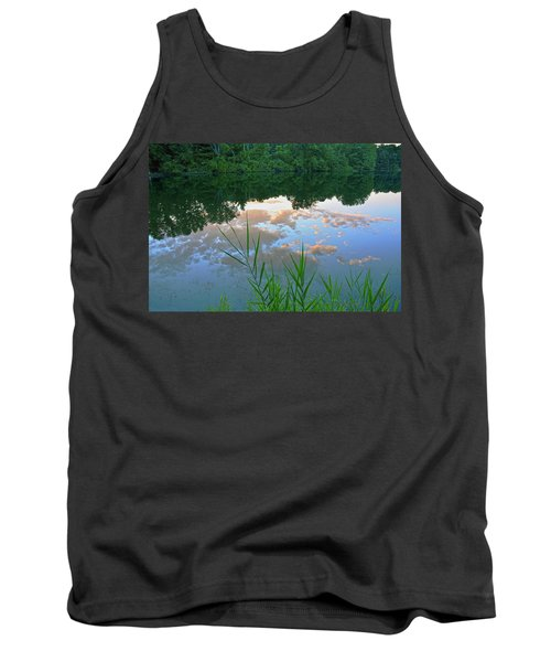 Pondering Tank Top by Angelo Marcialis