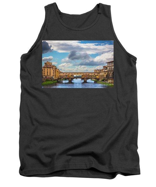 Ponte Vecchio Clouds Tank Top