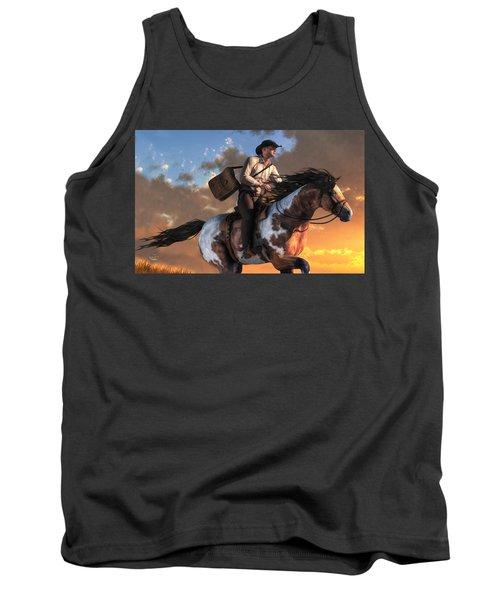 Pony Express Tank Top