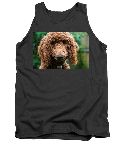 Tank Top featuring the photograph Poodle Pup by Jennifer Ancker