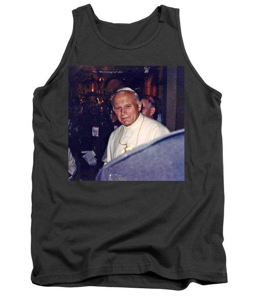 Pope John Paul Ll November 1, 1979 Tank Top