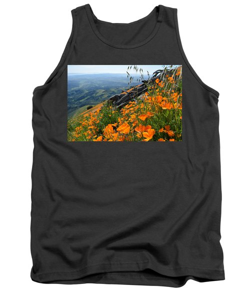 Poppy Mountain  Tank Top by Kyle Hanson