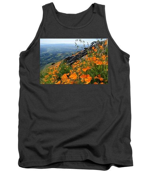 Poppy Mountain  Tank Top