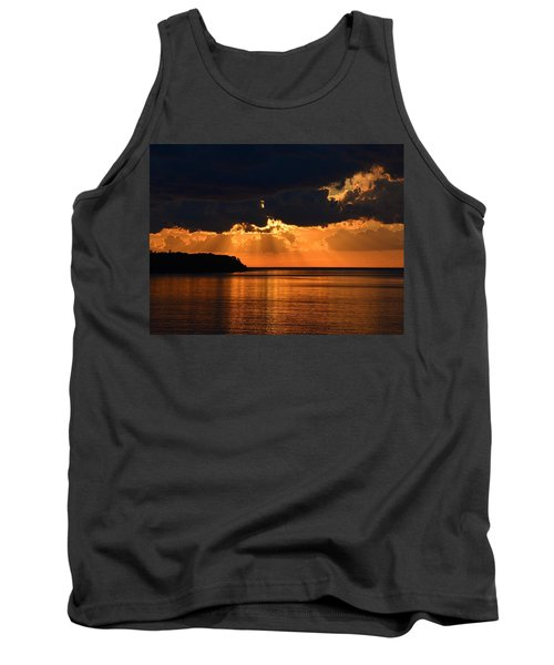 Porcupine Mountains Superior Sunset Tank Top