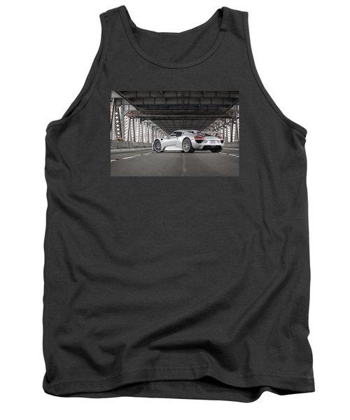 Tank Top featuring the photograph Porsche 918 Spyder by ItzKirb Photography