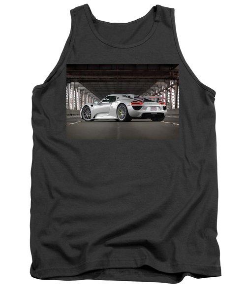 Tank Top featuring the photograph #porsche #918spyder #print by ItzKirb Photography