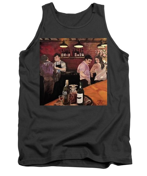 Port Bar Tank Top by Julie Todd-Cundiff