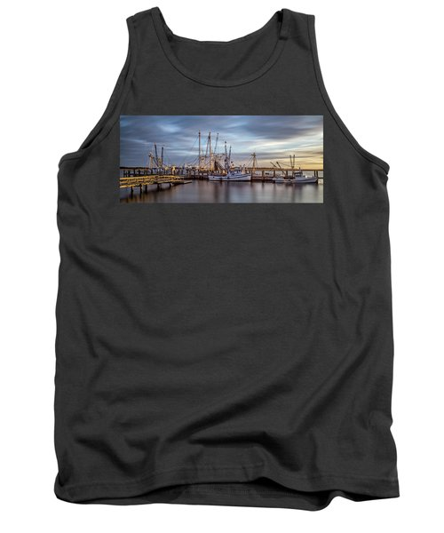 Port Royal Shrimp Boats Tank Top