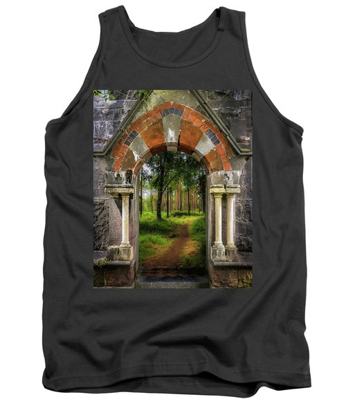 Tank Top featuring the photograph Portal To Portumna Forest by James Truett